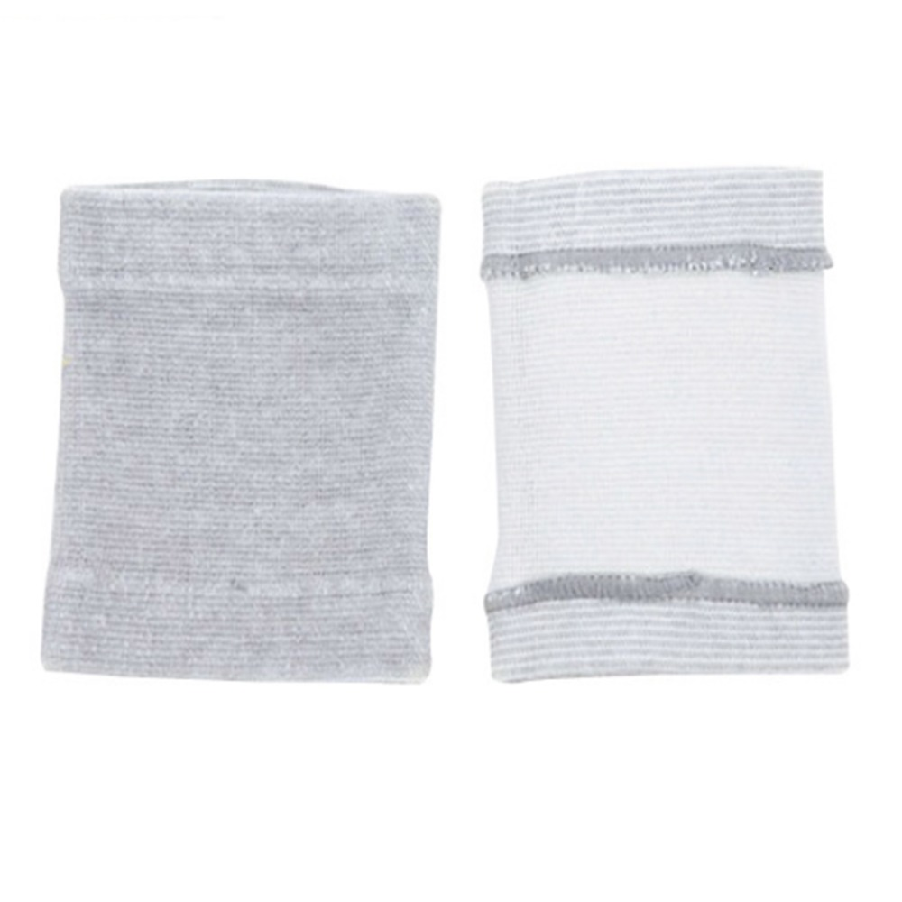 ZLROWR 1 Pair Bamboo Charcoal Wrist Support Tennis Wristband Sport Wraps Brace Protect