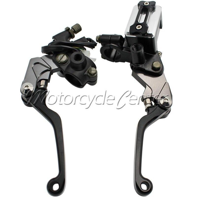 7/8 22mm Motorcycle Brake Hydraulic Master Cylinder Kit Reservoir Levers For KTM 250 SX-F XC-F XCF-W 525 450 SX SX-R XC XC-W 38mm cylinder barrel piston kit