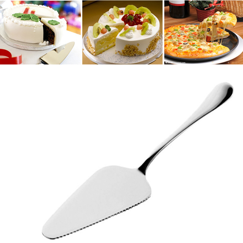 Cream Knife Spatula Fondant Pastry Slicer Small Knife Cake Cutter Pizza Pie Cheese Shovel Stainless Steel Baking Tools Cooking нож для пиццы