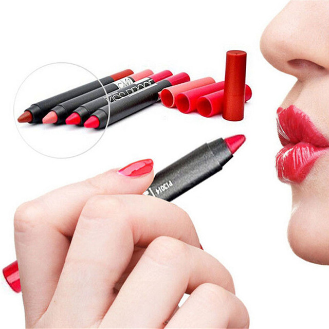 1 pc  Kissproof lipstick with long lasting effect Powdery Matte Soft Lip Stick Menow Beauty Lip Pen 19 colors