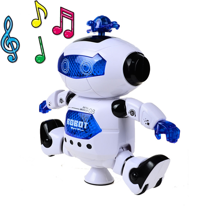 The Best Yolohalo Colorful Dancing Humanoid Robot Toy With Light Children Pet Brinquedos Electronics Jouets Electronique For Boy Kid Electronic Pets