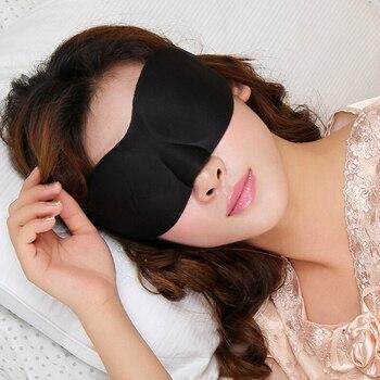 3D Sleep Mask Natural Sleeping Eye Mask Eyeshade Cover Shade Eye Patch Soft Portable Blindfold Travel Eyepatch eye cover Goggles 1