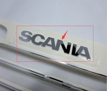 Tamiya scania actros truck logo sticker decals for tamiya 1/14th scale rc scania r730 tractor trailer truck