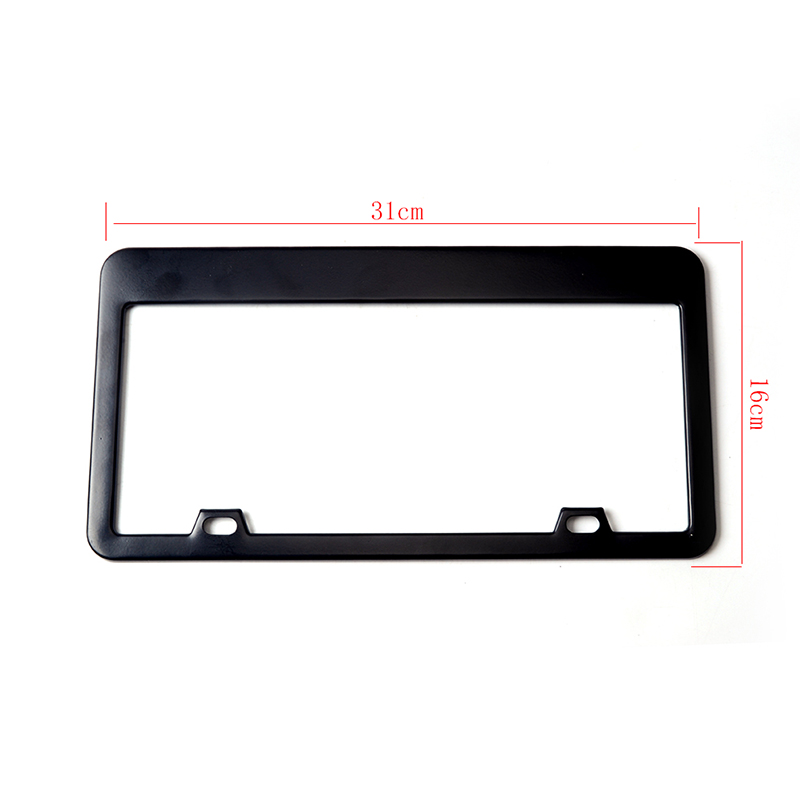 Image 5 - ESPEEDER 2pcs Stainless Steel License Plate Frame Tag Cover Holder For Auto Truck Vehicles Only For American Canada Car-in License Plate from Automobiles & Motorcycles