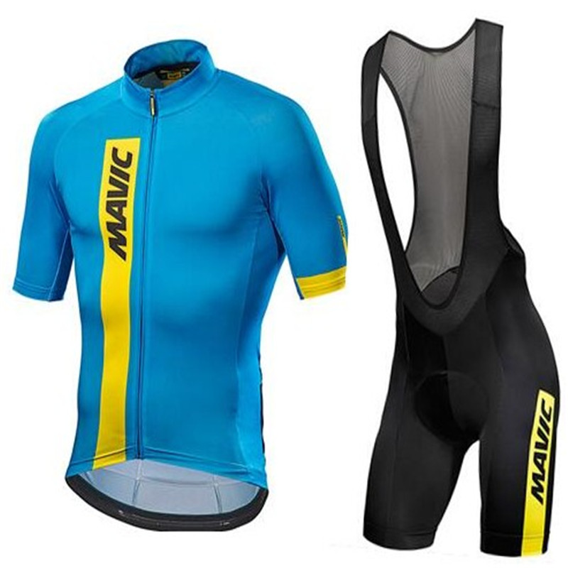 Mavic 2018Cycling Set Cycling Jersey Summer Team Short Sleeves Bike Clothing Ropa Ciclismo Cycling Clothing Sports Suit