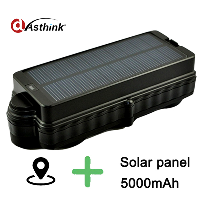 Waterproof IP7 solar gps tracker for car Vehile, gps/gprs/gsm locator with real time google map via phone portable 3g car gps tracker 20000mah powerful magnet gps locator 240 days standby time tracker tracking system for car rental