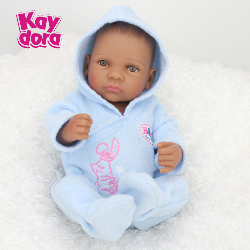 10 Inch 25cm Full Silicone Reborn Baby Dolls Alive