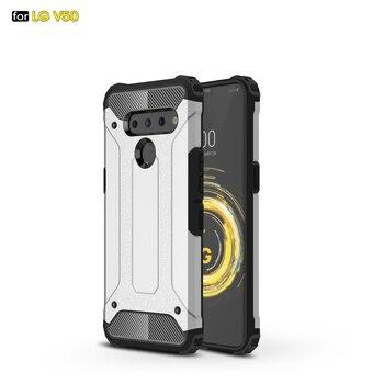 d68e7a9741e Doble proteger cubierta para LG V50 ThinQ 5G armadura caso 6,4