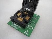 RT809F KB9012 LQFP128 Spacing 0 4mm IC Burning Seat Adapter Testing Seat Test Socket Test Bench
