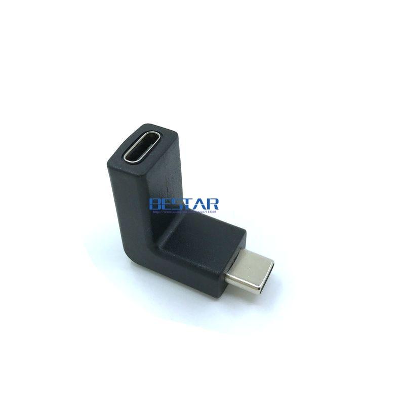 Nuevo diseño de codo 10Gbps 90 grados con ángulo recto USB-C USB - Cables de computadora y conectores - foto 5
