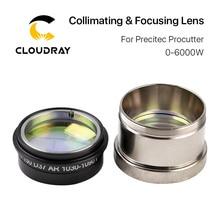 Cloudray เลเซอร์ Collimating เลนส์โฟกัส D37 พร้อมเลนส์สำหรับ Precitec ProCutter เลเซอร์ตัดหัว 0 6KW