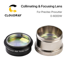Cloudray Fiber Laser Collimating Focusing Lens D37 with Lens Holder for Precitec ProCutter Laser Cutting Head 0 6KW