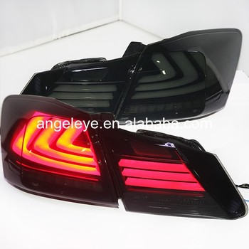 For Honda  for Accord 2013-2014  year LED Rear Light Smoke Black Color YZ