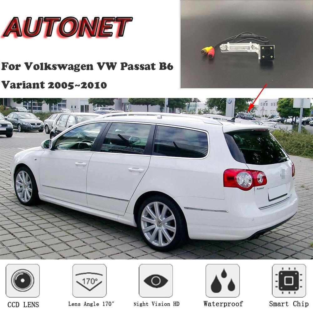 AUTONET HD Night Vision กล้องด้านหลังสำหรับ Volkswagen VW Passat B6 Variant ซีดาน 2005 ~ 2010/กล้องสำรอง /แผ่นใบอนุญาตกล้อง|กล้องติดรถยนต์|   -