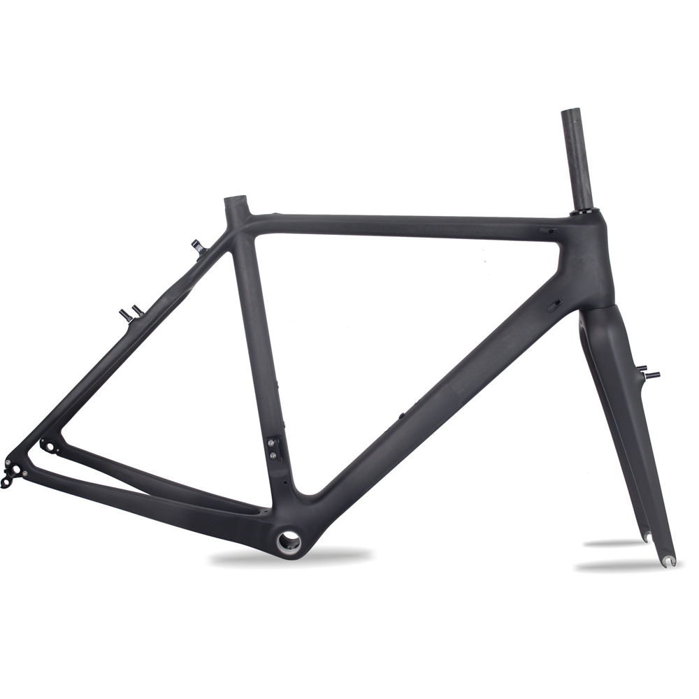 Chinese factory directly selling carbon cyclocross V-brake UD matte t700 CX bike carbon frame Di2 CX536 hot sale chinese cyclocross frame carbon cx frame di2 disc brake carbon cyclocross bike frame cx535