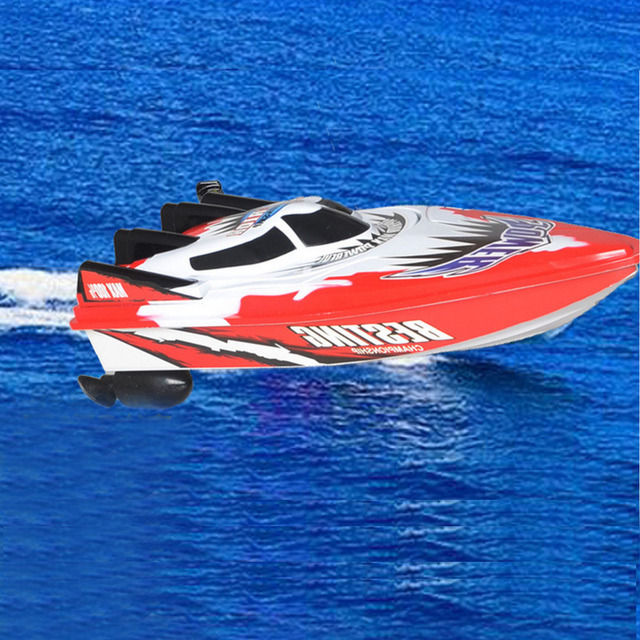 C202 RC Racing Boat RED Vitality 4CH Radio Control Remote High Speed 2.4 Ghz