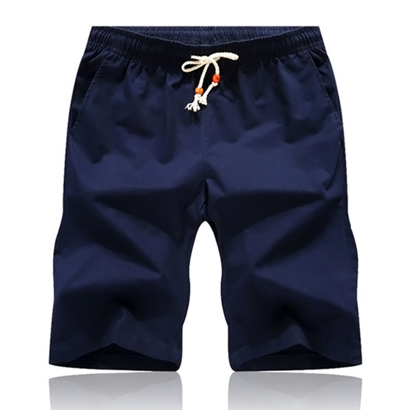 Men's Clothing Trustful 2019 Bermuda Men Summer Shorts Cotton Knee Length Chinos Shorts Casual Cargo Men Shorts Masculina Big Size 44 Man Sweatpants