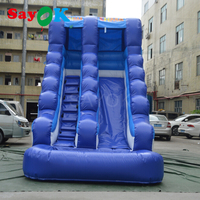 Giant Inflatable Slide Bouncer 6x3x5m Durable Water slide PVC Tarpaulin for Kids Commercial Use Free Shipping by Sea