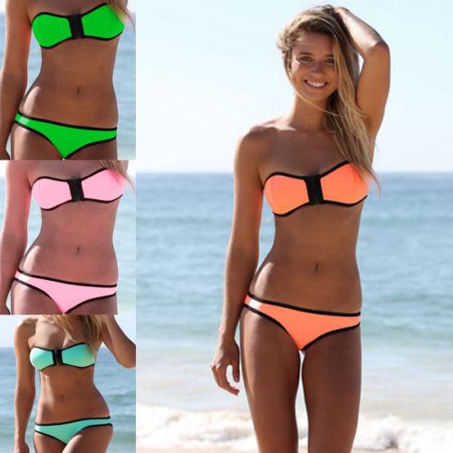 bikinis sin tirantes