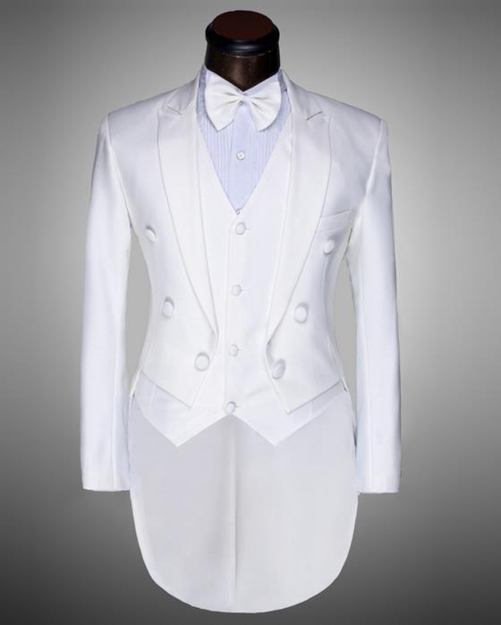 2019 new arrival slim men tuxedo suit set with pants mens suits wedding groom formal dress custom suit + pant + tie + vest 4X - 2