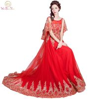 100% Real Images Arabic Evening Gowns Dresses Red /Champagne Sequined Crystal Long vestidos festa Party Formal Gowns
