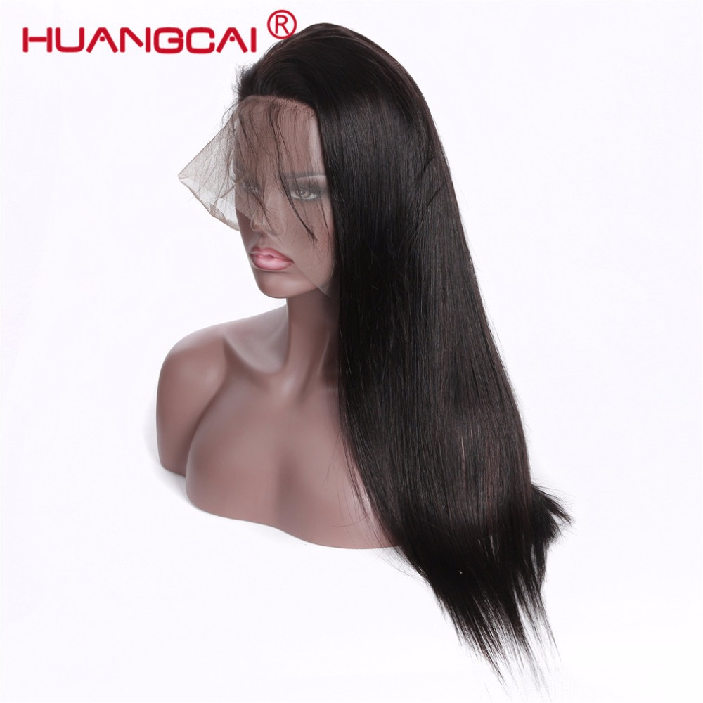 Pre Plucked Full Lace Human Hair Wigs Malaysian Straight Glueless Full Lace Wigs With Baby Hair Natural Hair Wigs For Women Remy ...