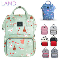 LAND Nappy Bag 2018 Baby Bags Large Diaper Bag Backpack Organizer Maternity Bags For Mother Handbag Baby Nappy Backpack