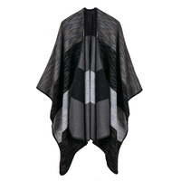 Vanled 2017 Brand Women Scarf High Quality Plaid Imitation Cashmere Winter Ponchos And Capes Thick Warm