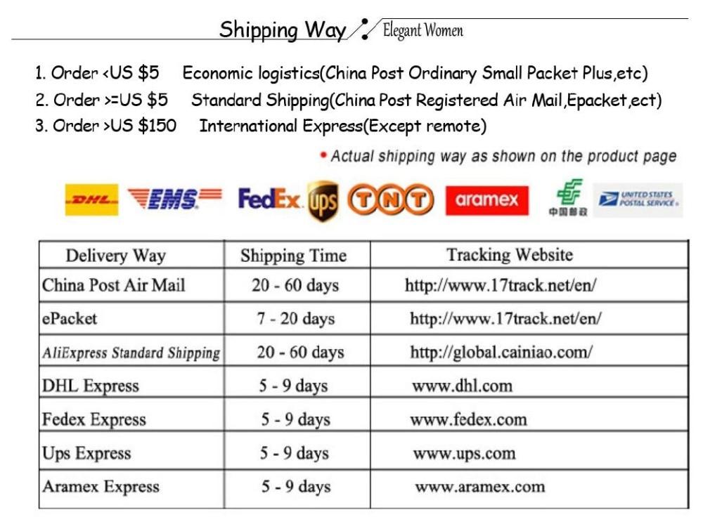 Shipping way 2