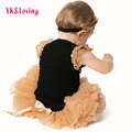 New Design Girl Skirt Baby Tutu Skirt Cheap soft  Cotton Baby Rompers Spring Summer 2016 Hot Bodysuit Long Sleeve Body Clothing