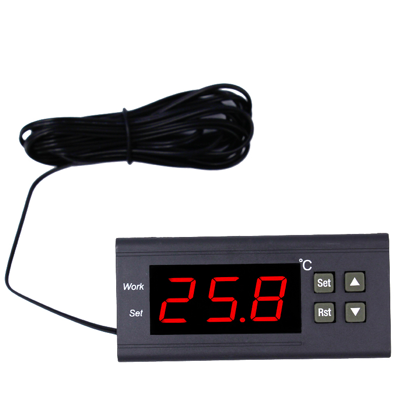 New Arrival 220V Digital thermoregulator Temperature controller Thermostat regulator with Temperature calibration function 15% 2016 new arrival digital thermostat temperature controller socket