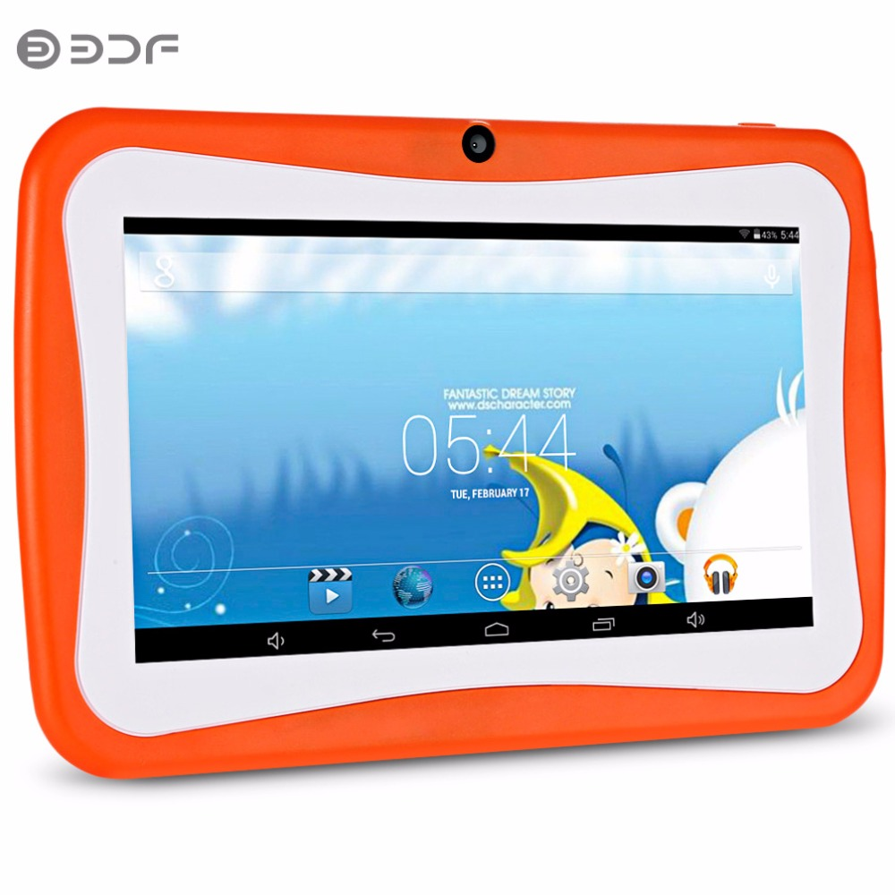 BDF Kids Tablet PC 7 Inch Android Tablet 4.4 for children Quad Core 8GB 1024x600 Screen Children Education Games Baby Tab odell education developing core literacy proficiencies grade 12