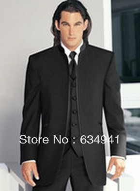 Custom black italian style Men Suit/mens latest coat designs ...