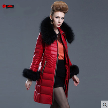Europe Fashion Winter Women Jackets and Coats Luxury Raccoon Fur Womens Parka femme abrigos y chaquetas