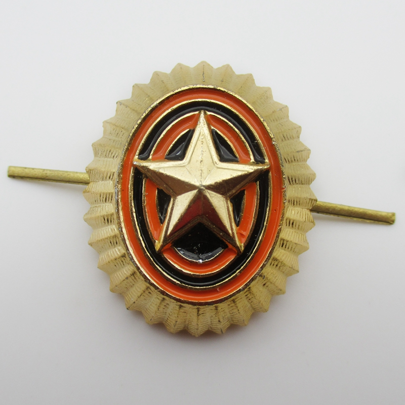 9 styles Men/'s Punk Rock uniforme militaire Marine Médaille Steampunk badge broche pin
