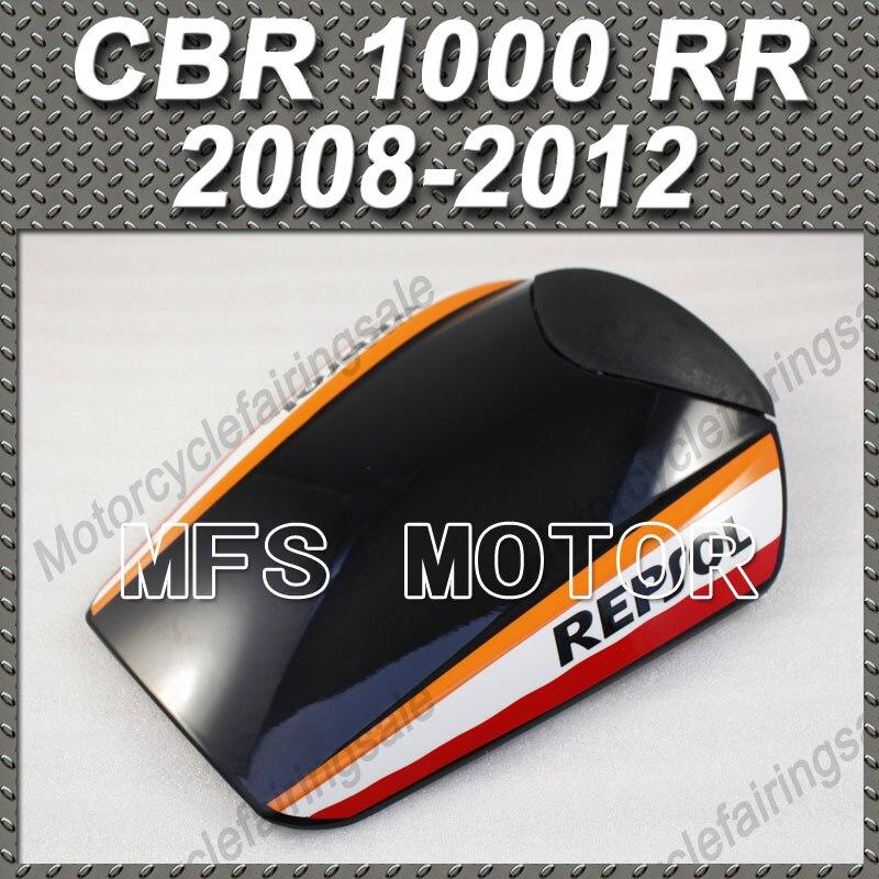 New Repsol Motorcycle Part Rear Pillion 09 10 11 Black Seat Cover For Honda CBR1000RR CBR 1000 RR 2008 2012