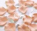 1000 Peach Silk Rose Petals flor do Casamento Favor Decor Petalas De Rosas parágrafo Casamento