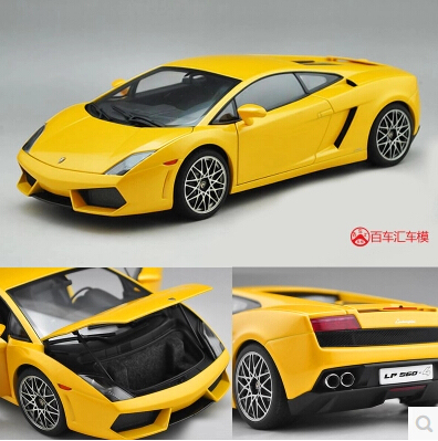 LP560-4 AUTOart 1:18 GALLARDO AA74588 Original simulation alloy car model Italian sports car Fast and Furious Classic cars