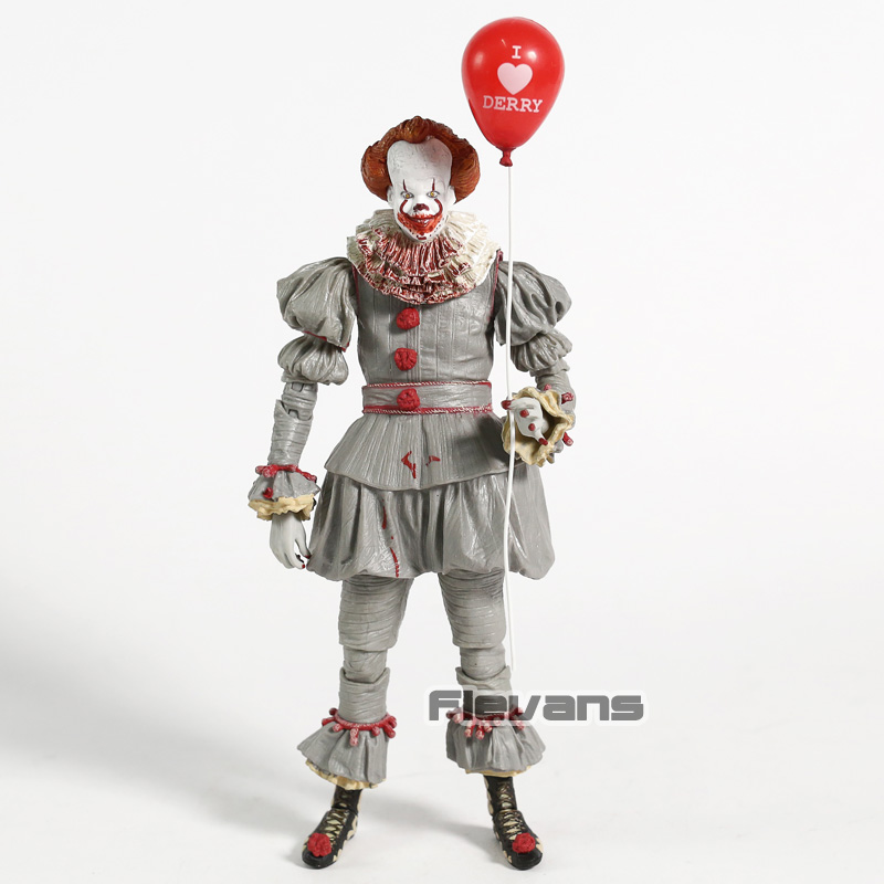 NECA Stephen Kings It 3D Version Pennywise Action Figure Horror Figurine Collectible PVC Model ToyNECA Stephen Kings It 3D Version Pennywise Action Figure Horror Figurine Collectible PVC Model Toy
