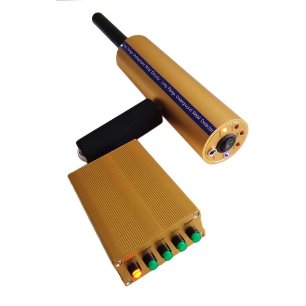 Professional Ручной ЖК дисплей детектор металла Gold Digger свет Охотник складной глубокий чувствительный поиск инструменты