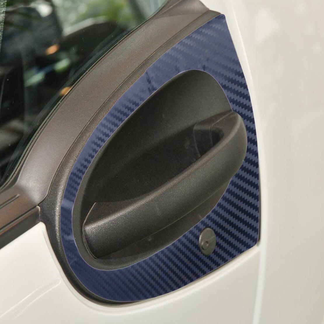 Dwcx 2pcs Pet Car Door Handle 3d Sticker Cover Trim Fit For Smart 451 Fuse Box Citall Fortwo Brabus