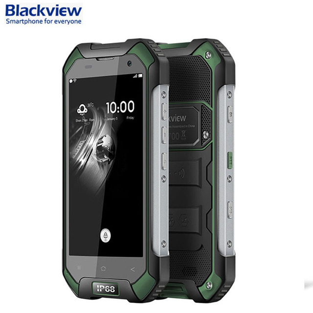Original Blackview BV6000S ROM 16GB+RAM 2GB Network 4G IP68 Waterproof 4.7'' Android 6.0 MTK6735 Quad-core 1.3GHz