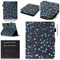 Star Pattern PU Leather Case With Card Slots For Apple iPad Air 3 2 1 Case Folio Stand Skin For iPad 7 6 5 4 3 2 ipad mini 4 3 2