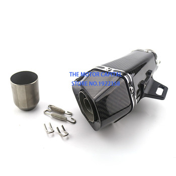 Newest high quality Motorcycle Exhaust Pipe Muffler Modified Motorbike Exhaust for Motorbike Scooter ATV Dirt Bike фото