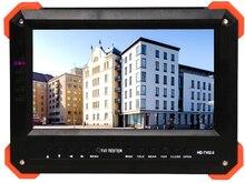 New 2MP HD Resolutions TFT CCD Monitor auto OSD Menu CCTV Equipment tester For TVI and Analog Digital camera