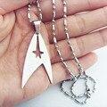 Men's choker necklace Jewelry Star War Star Trek Stainless steel Pendant Necklace