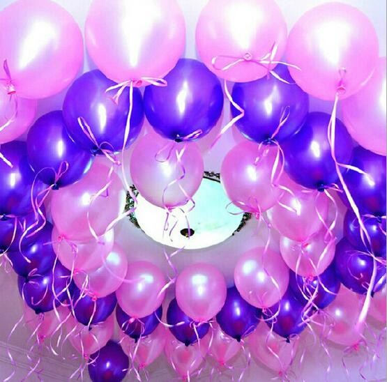 (30Pieces/Lot) 10inch 1.5g Metallic Latex Helium Balloons Arch Thickening Pearl Wedding Party Birthday Balloon Decoration