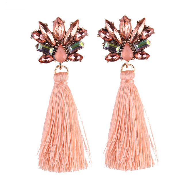 Bohemian Special Wedding Tassel Earring