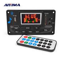 AIYIMA 12V 4,2 Bluetooth MP3 Decoder Audio Modul Spektrum Display Verlustfreie APE Dekodierung Unterstützung APP EQ FM AUX Auto zubehör