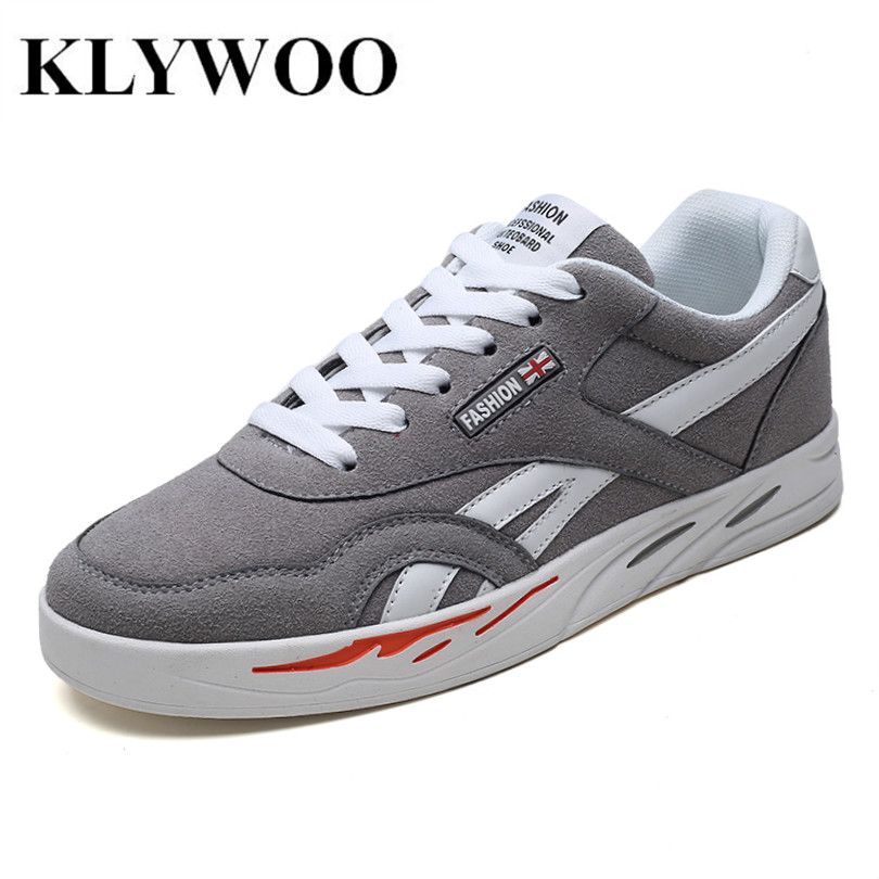 KLYWOO Brand Men Casual Shoes Couple Spring Breathable Men Sneakers Shoes Zapatillas Hombre Fashion Driving Shoes Men Size 35-44 casual dancing sneakers hip hop shoes high top casual shoes men patent leather flat shoes zapatillas deportivas hombre 61